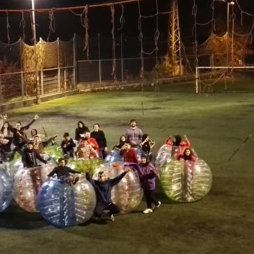 Dilluns lúdics- Tardes diferents- Bubble football