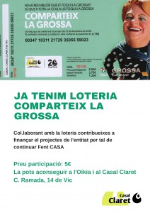 cartell loteria 2018